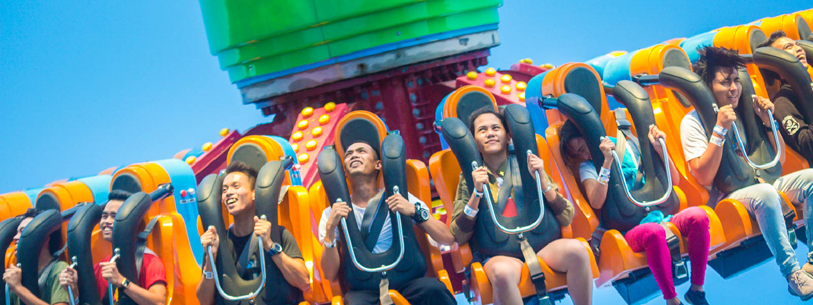 Enjoy more than 12 rides and attractions